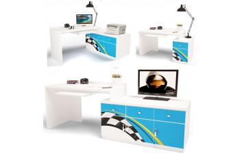 Детский стол модульный Г (без тумб) ABC La-Man ABC-KING