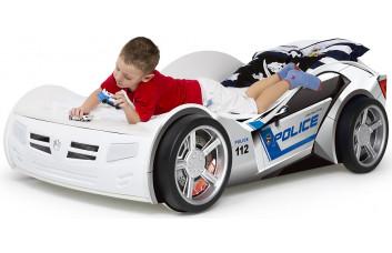Детская кровать-машина Police ABC-King