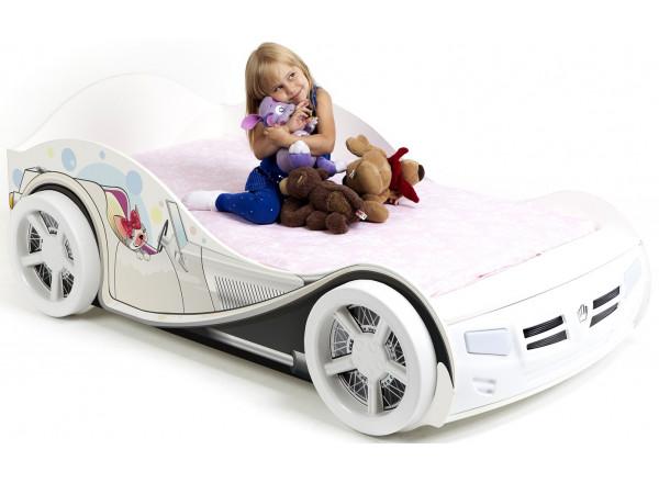 Детская кровать-машина Molly ABC-King (Молли)