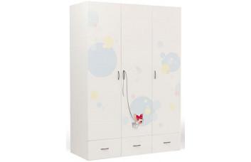 Детский шкаф 3-х дверный  Molly ABC-King (Молли)