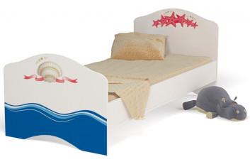 Детская кровать классика для девочки Ocean ABC-King