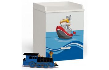 Детская тумба прикроватная Ocean ABC-King