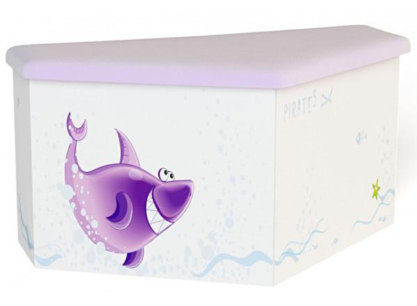 Детский ящик для игрушек приставной Pirates ABC-King (Пиратка)