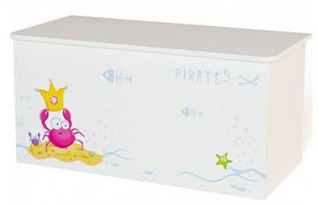 Детский ящик для игрушек Pirates ABC-King (Пиратка)