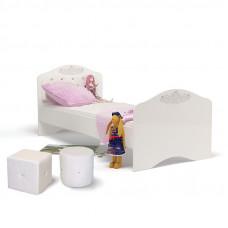 Детская кровать классика ABC-KING Princess №2 со стразами SWAROVSKI