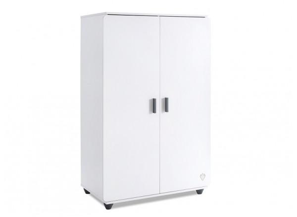 White 1004 Шкаф двухдверный низкий