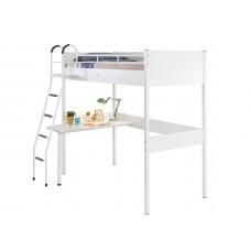 White 1402 Кровать-чердак со столом