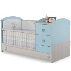 Детская кровать-трансформер BABY BOY 1016, сп. м. 75x160 CILEK