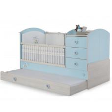 Детская ровать-трансформер BABY BOY 1015, сп. м. 75x115/75x160 CILEK