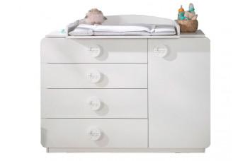 Baby Cotton SL Комод c пеленальным столиком 1203, 1202 CILEK