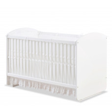 Baby Cotton Кроватка-колыбель White 1012, сп.м. 70х130