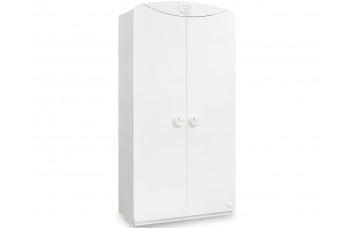 Baby Cotton 1001 двухдверный шкаф с окном CILEK