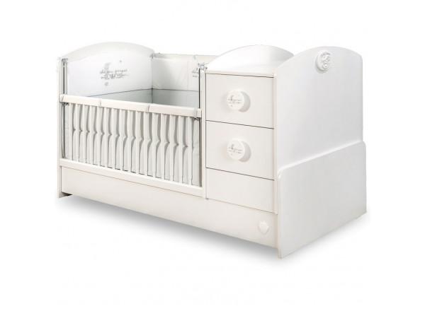 Baby Cotton Кровать-трансформер ST 1016, сп. м. 75х160 CILEK