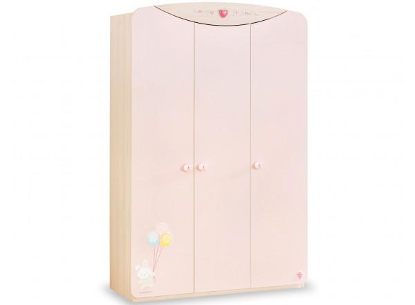 Детский шкаф трехдверный BABY GIRL 1002 CILEK