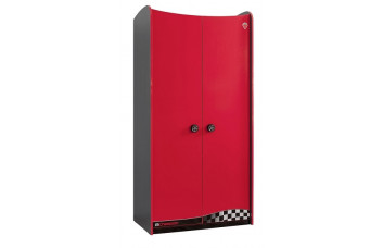 Детский шкаф 2-х дверный CILEK CHAMPION RACER 1003