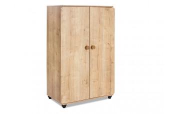 Natura 1008 шкаф двухдверный низкий CILEK