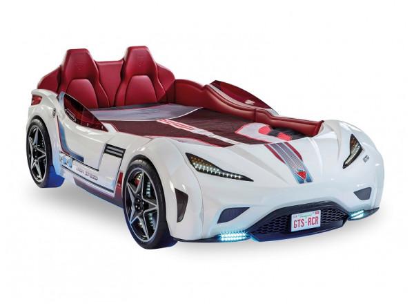 Кровать машина GTS, белый