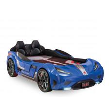 Кровать машина GTS, синий