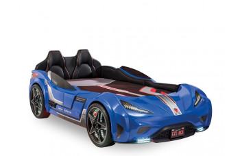 Carbed Кровать-машина 1353 GTS, синяя сп. м. 100х190 CILEK