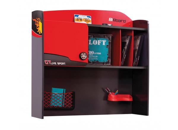 Детская надстройка к письменному столу CILEK CHAMPION RACER 1103