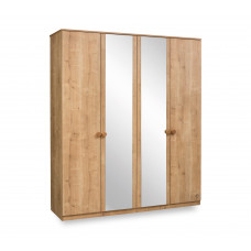 Natura Шкаф 1005 четырехдверный CILEK