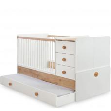 Natura Baby Кровать-трансформер 1015, сп. м. 80х131/80х177  CILEK