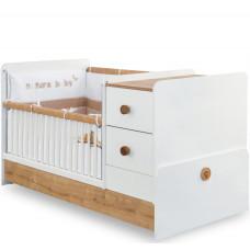 Natura Baby Кровать-трансформер 1016 ST, сп. м. 75х160  CILEK