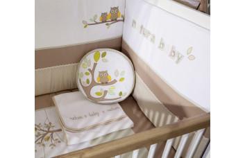 Комплект постельных принадлежностей 4154 Natura Baby (80x130 см) CILEK