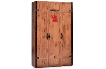 Детский 3-х дверный шкаф CILEK BLACK PIRATE KS-1002