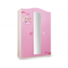 Детский шкаф 3-х дверный CILEK PRINCESS SLR-1002