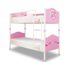 Детская кровать двухъярусная, сп. м. 90х200 CILEK Princess SL 1401