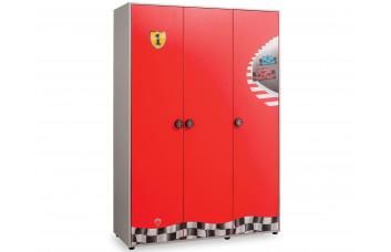 Детский шкаф трехдверный Racecup 1002 CILEK