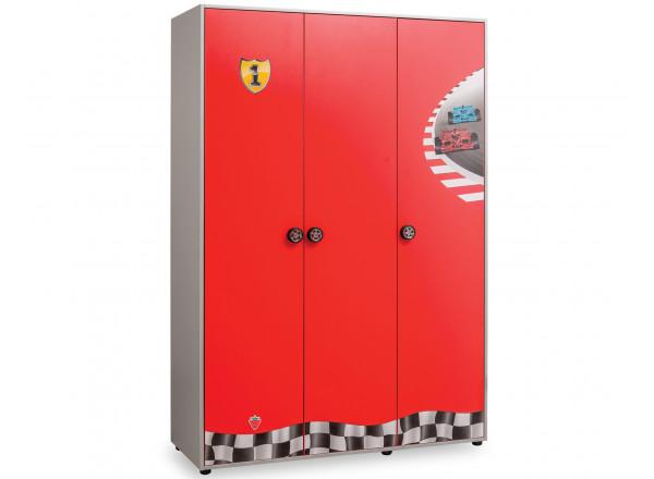 Трехдверный шкаф Race Сup