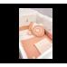 Комплект постельных принадлежностей с бортами для кровати Romantic Baby 4169 (75x115 см)
