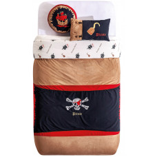 AKS-4479 Комплект Pirate Hook (покрывало 160x210 см, 2 декоративные подушки) CILEK