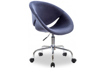 Кресло Relax, на роликах, цвет темно-синий 8498 CILEK