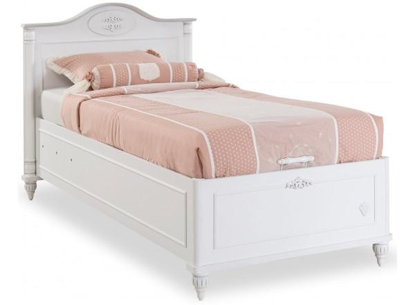ROMANTIC RM-1705 Кровать с подъемным механизмом (без матраса), матрас 190х90 см CILEK