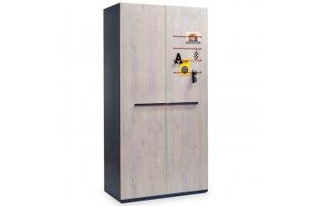 TRIO T-1001 2-х дверный шкаф CILEK