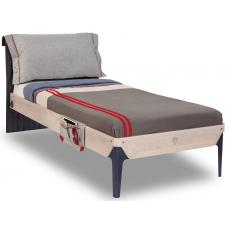 TRIO T-1301 кровать, под матрас 100х200 CILEK