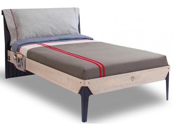 TRIO T-1302 кровать, под матрас 120х200 CILEK