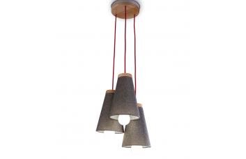 AKS-6362 TRIO потолочный светильник CILEK