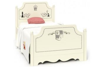 Детская кровать классика Шахматы AndyOlly