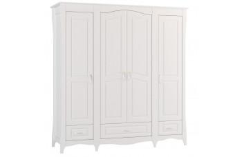 ШАНДЕЛЬ Шкаф с 4-мя дверьми и 3-мя ящиками малый Ш-15 (Миларосо)