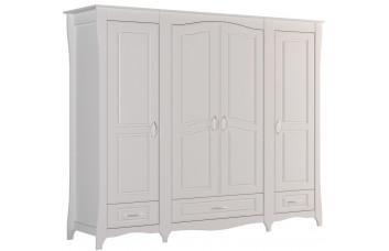 ШАНДЕЛЬ Шкаф с 4-мя дверьми и 3-мя ящиками большой Ш-16 (Миларосо)
