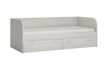 Диван-кровать с двумя ящиками LILO WOJCIK