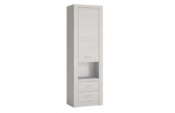 Книжный шкаф 1-дверный с 2 ящиками LILO WOJCIK