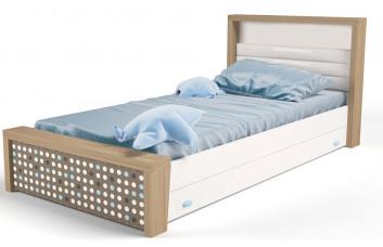 Детская кровать №3 MIX Голубой ABC-King
