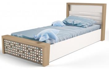 Детская кровать №5 MIX Голубой с под.механизмом ABC-King