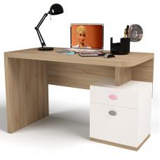 Детский стол без надстройки MIX Розовый ABC-King