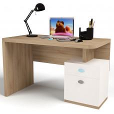 Детский стол без надстройки MIX Голубой ABC-King